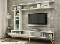 How and where to make a modern TV cabinet design? Tv Unit Furniture Design, Tv Unit Interior Design, Tv Wall Design, Tv Furniture, Farmhouse Furniture, Modern Tv Cabinet, Modern Tv Wall Units, Tv Unit Decor, Tv Wall Decor