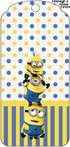 Minions graphics for printable decorations and more!