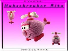 Hubschrauber Rita Häkelanleitung auch auf Dawanda erhältlich: http://de.dawanda.com/product/46334186-rita-der-helikopter----haekelanleitung