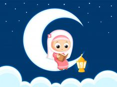 Illustration about Muslim girl Reading Quran Quran is the holy book of Islam , Happy Ramadan. Illustration of girl, greeting, eastern - 83582743