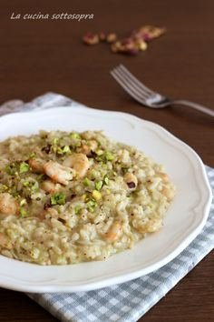 Risotto Recipes, Rice Recipes, Cooking Recipes, My Favorite Food, Favorite Recipes, Main Course Dishes, Best Italian Recipes, World Recipes, Food For Thought