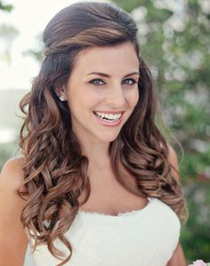 WeddingChannel Galleries: Half Up and Half Down Hairstyle