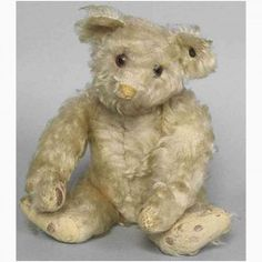 A little less known and often mixed up with teddy clown is the yellow brother. But the yellow bears Old Teddy Bears, Antique Teddy Bears, Old Toys, Plush, Animals, Google, Teddy Bear, Antiquities, Clearance Toys