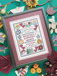 Cross-Stitch - All Seasons Sampler