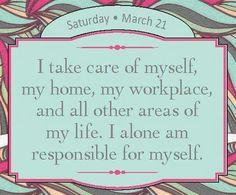Take care of me!
