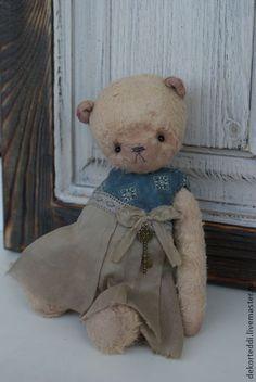 Мишка ...Мишенька - бежевый,мишка тедди,подарок,ручная работа,мишка тедди своими руками