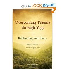 Overcoming Trauma through Yoga is a book for survivors, clinicians, and yoga instructors who are interested in mind/body healing. It introduces trauma-sensitive yoga, a modified approach to yoga developed in collaboration between yoga teachers and clinicians at the Trauma Center at Justice Resource Institute, led by yoga teacher David Emerson, along with medical doctor Bessel van der Kolk. The book begins with an in-depth description of trauma and post-traumatic stress disorder (PTSD),