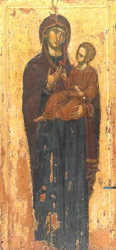 Holy Mother in an icon that looks like Odegetria Religious Images, Religious Icons, Religious Art, Byzantine Icons, Byzantine Art, Holly Pictures, Russian Icons, Religious Paintings, Christian Religions