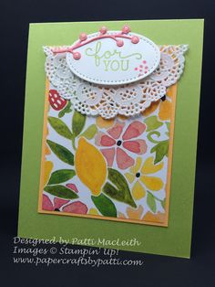 ORDER STAMPIN' UP! ON-LINE! 17 paper crafting ideas using Stampin' Up! products. Daily tips & 1000+ card ideas. Clearance & exclusive offers.