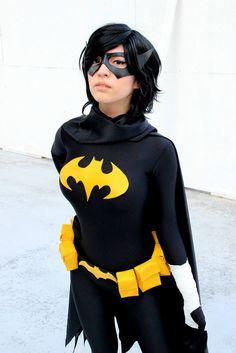 Black Bat (Cassandra Cain) by surfingthevoiid on DeviantArt #cosplay