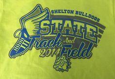 Shelton State Track & Field - 2014  - track - track & field - track and field - sports - athletics- apparel - t-shirt - tee shirt - design - screen print - screenprint - Kearney Nebraska - Shirt Shack - http://shirtshackkearney.com