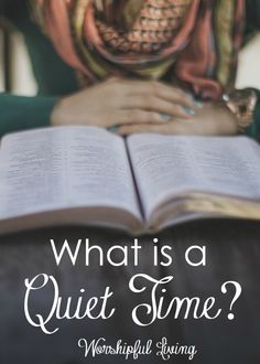 You hear about having a quiet time often at church or Christian circles. But…
