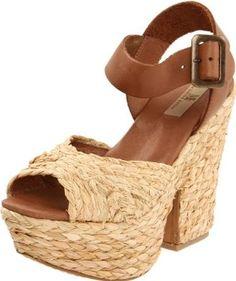 MIA Limited Edition Women's Bamboo Sandal.  List Price: #EANF#  Savings: #EANF#