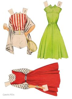 Teen Time paper dolls 1950's #5 / Ebay Doll Clothes Patterns, Clothing Patterns, Paper Dolls Printable, Vintage Paper Dolls, Fashion Illustrations, Playing Dress Up, Teenagers, Kylie, 1950s