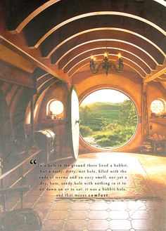 In a hole in the ground there lived a hobbit...