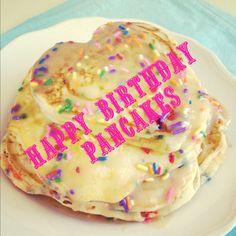Birthday Sprinkles Pancakes...