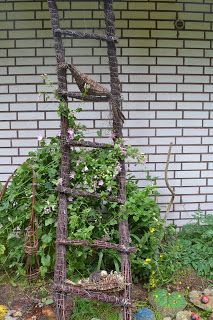 tikkaat Tree Stump, Branches, Homesteading, Outdoor Structures, Home Decor, Garden, Green, Basket, Basteln