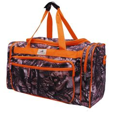 This would totally be cool to have as my hospital bag! Lol. Monogrammed Woods Camo Duffle - Lots of Colors on Etsy, $29.95
