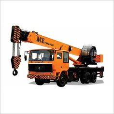 TM 250 C Truck Mounted Crane - Manufacturer,Supplier and Exporter Truck Mounted Crane, Earth Moving Equipment, Led Manufacturers, Construction, Action, Trucks, India, Building, Group Action