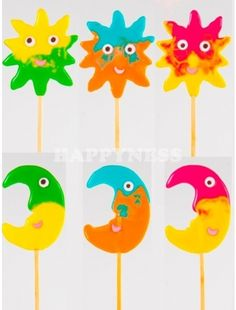 Πρωτότυπα γλειφιτζουρια βαπτισης ήλιος φεγγάρι ματ! Τα γλειφιτζούρια βάπτισης έρχονται στον πελάτη συσκευασμένα με ειδικό διάφανο σακουλάκι για τρόφιμα!  Βάρος: 55-60gr Yoshi, Character, Lettering