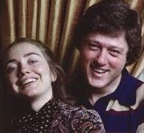 Really old picture of Bill & Hillary while still at Yale Law School