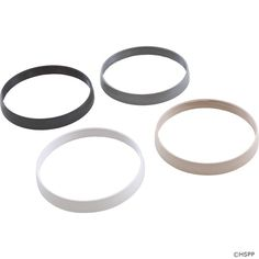 Trim Ring Kit, PAL Treo, White/Black/Gray/Tan, New Style ,.