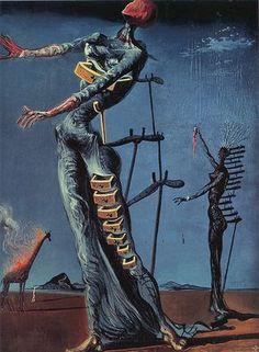 The Burning Giraffe, Salvador Dali, 1937