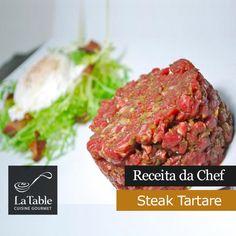 Receita da Chef – Steak Tartare