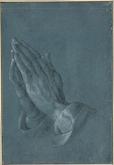 Albrecht Dürer, Betende Hände, 1508 © Albertina, Wien