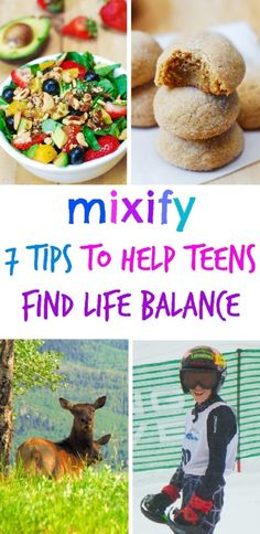 7 Tips to Help Teens Find Life Balance (Mixify) + $100 VISA GIFT CARD GIVEAWAY! #BH #ad (teen health tips)