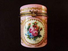 Antique angel and rose | | - Porcelain-Bonbonniere antique British and French Eglantyne (Egurantinu)