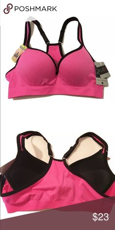 NEW FLEX Own It Push Up Sports Bra Underwire LARGE NEW FLEX Own It Push Up Sports Bra Underwire Adjustable Racerback LARGE  I try my best to capture the correct color/shade.  They actual shade may vary in person. Push up molded cup Underwire Adjustable racerback Diamond knit detail Size: Large 90% Nylon, 10% Elastane Thank you so much! FLEX Intimates & Sleepwear Bras