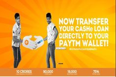 Loan giving app CASHe integrates Paytm Wallet for direct cash transfers :http://gktomorrow.com/2017/01/29/cashe-integrates-paytm-wallet/