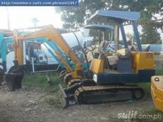 For Sale Japan Surplus Hydraulic Excavator for Sale Make & Model: Yanmar mini excavator Engine: Yanmar Bucket Capacity: cubic Contact: Location: Universal Fortune Trading Address: UN Avenue National Highway Mandaue City 6014 Excavator For Sale, Mini Excavator, Hydraulic Excavator, Military Vehicles, Philippines, Monster Trucks, Engineering, Bucket, Japan