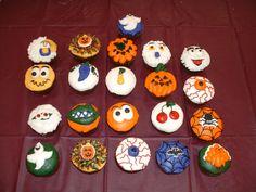halloween cupcakes - Halloween Inspired Cupcakes