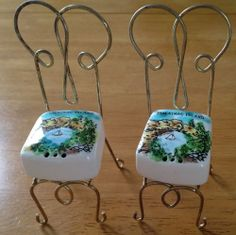 Mackinac Island Salt and Pepper Shakers Vintage Michigan