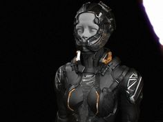 ArtStation - Suit_1, by Dmitriy RabochiyMore robots here.