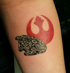FYeahTattoos.com — My awesome Star Wars piece done at Tattooed Planet...