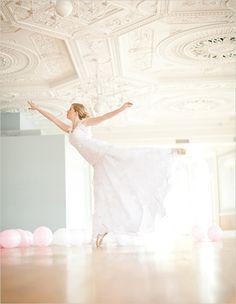 bridal ballet session