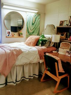 Madeline's dorm room at University of Tennessee