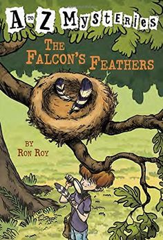 The Falcon's Feathers (A to Z Mysteries) by Ron Roy, AR 3.3