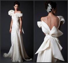 Coast Evening Dresses Custom Made!2015 Krikor Jabotian Evening Dresses Floor Length Dubai Prom Dress Backless Bow Draped Arabic Celebrate Dresses Womens Dress From Weddingshow, $105.92| Dhgate.Com