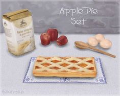 Helen Sims: Apple Pie Set • Sims 4 Downloads