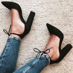 Spring Summer New 2017 Office Career Ladies Women lolita Shoes Escarpins Femme Lace Up Chunky High Heels Fashion Women Pumps Cute Shoes, Me Too Shoes, Shoe Boots, Shoes Heels, Dress Shoes, Jeans Heels, Corset Dresses, Flat Shoes, Wedge Shoes