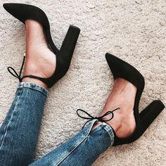 Pinterest @formecomfort  Instagram @formecomfort  Steve Madden Pamperd Block Heels