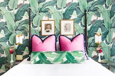 From emerald sofas and jungle green tiles to sage walls and minty draperies, all of these homes will have you feeling green with envy.