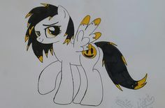 This is me. Smiley Light is a pony who is brave, brings everypony smiling and is always happy