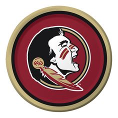 Florida State Univ 9 Inch Dinner Plates/Case of 96 Tags: Florida State University; Dinner Plates; Collegiate; Florida State University Dinner Plates;Florida State University party tableware; https://www.ktsupply.com/products/32786325282/Florida-State-Univ-9-Inch-Dinner-PlatesCase-of-96.html