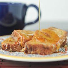Great way to use all that zucchini - Zucchini bread french toast via @spabettie