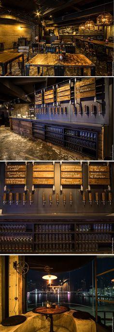 [No.181 솔피자] 45평 빈티지 피자 비스트로 인테리어, 펍인테리어, 워크인 냉장고 수제맥주 vintage pub interior
